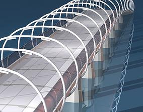 Bridge overpass 3D model