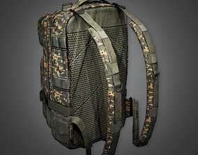Military Backpack 03 - MLT - PBR Game Ready 3D asset