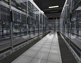 Data Centre Ready to Render 3D asset