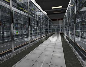 Data Centre Ready to Render 3D asset
