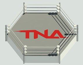 3D model TNA Wrestlin Ring
