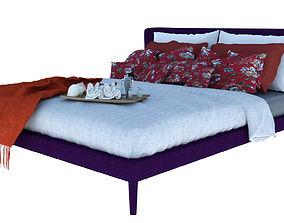 Maxalto Bed 3D model
