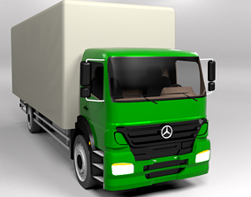 3D model low-poly MERCEDES BENZ AXOR 2011 LOWPOLY