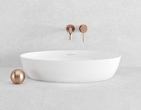 3D model sink ARTIS Villeroy Boch 61x41x13cm