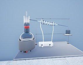 3D asset Hydrodistillation Setup