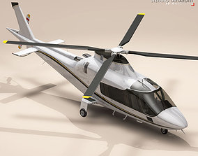 3D AW109 copter