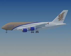 3D Gluf Air Airbus A380