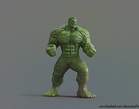 3D Model The Hulk comic