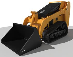 Bobcat Mini Track Loader 3D asset
