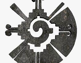 Hunab Ku Maya Symbol 3D