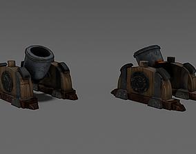 3D model Clash of Clans - Mortar