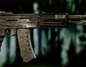3D model AK 12 with Textures