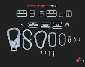 3D model Sewing accessories Vol 03