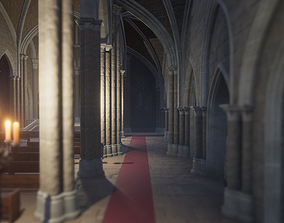 Church 3D model realtime