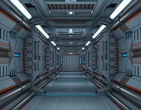 Sci Fi Corridor 3D space