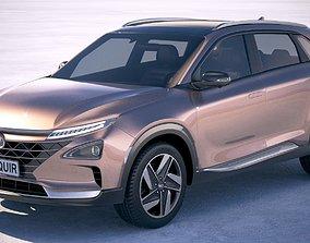 5door Hyundai Nexo 2019 3D model