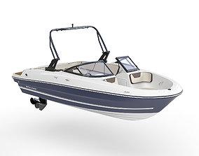 3D model Motorboat Bayliner VR 4