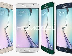 3D Samsung Galaxy S6 Edge All Color