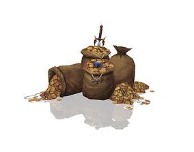 Stolen Treasure 3D model