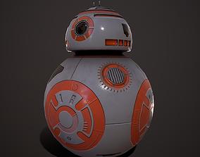 3D asset Droid V4