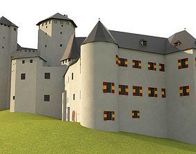 3D Burg Lockenhaus complex Historical Medieval Castle 1