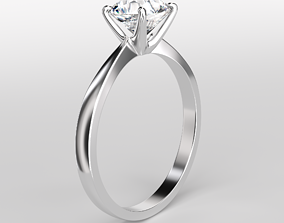 3D printable model Engagement Ring simple