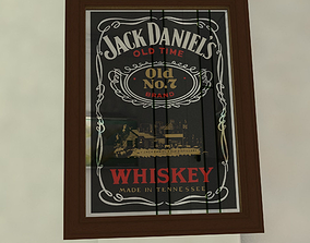 3D Mirror Jack Daniels