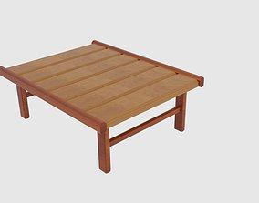 Japanese Table Modern End Tables 3D asset