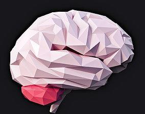 Brain Low Poly v2 3D model