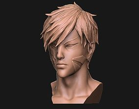 Genos Onepunch Man toy 3D printable model