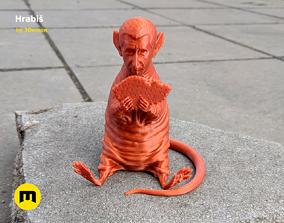 Hrabis - Caricature of Czech premier 3D PRINT MODEL