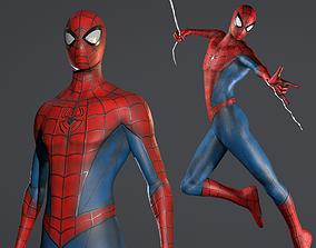 Spider-Man 3D model rigged