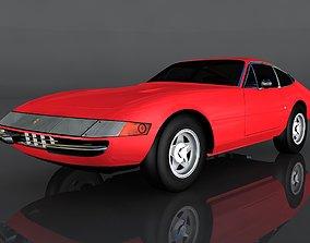 1968 Ferrari 365 3D asset