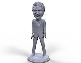 Bill Clinton stylized high quality 3D printable miniature