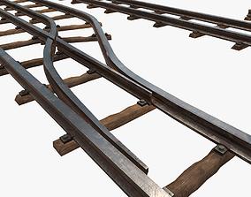 Railway Tracks 3D asset
