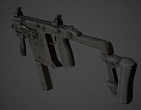 3D model KRISS Vector Low Poly