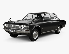3D Toyota Crown 1967