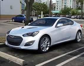 3D Hyundai Genesis Coupe 2014