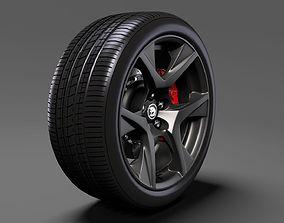 HSV GTS Gen F2 wheel 2017 3D model