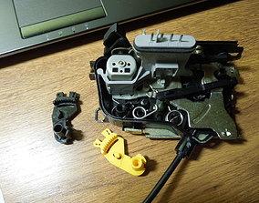 3D print model Car door lock part