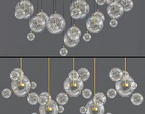 Bolle Ceiling Light 3D model