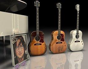 3D Gibson John Lennon