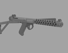 3D model realtime Low Poly Sterling Mk4