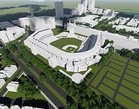 Oriole Park at Camden 3D model
