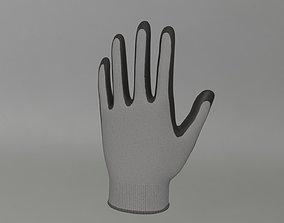 Coated Working Gloves 3D model