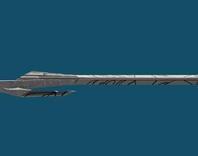 Gamora sword Guardians of the Galaxy 3D printable model