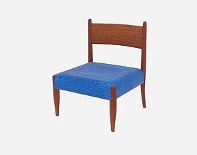 Slipper Chairs Danish Modern 3D model
