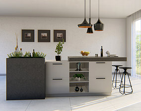 3dnikmodels kitchen Counter 09