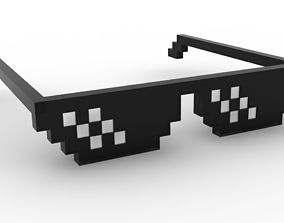 Deal With It Glasses 3D print model