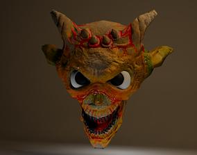 3D model realtime Monster Head